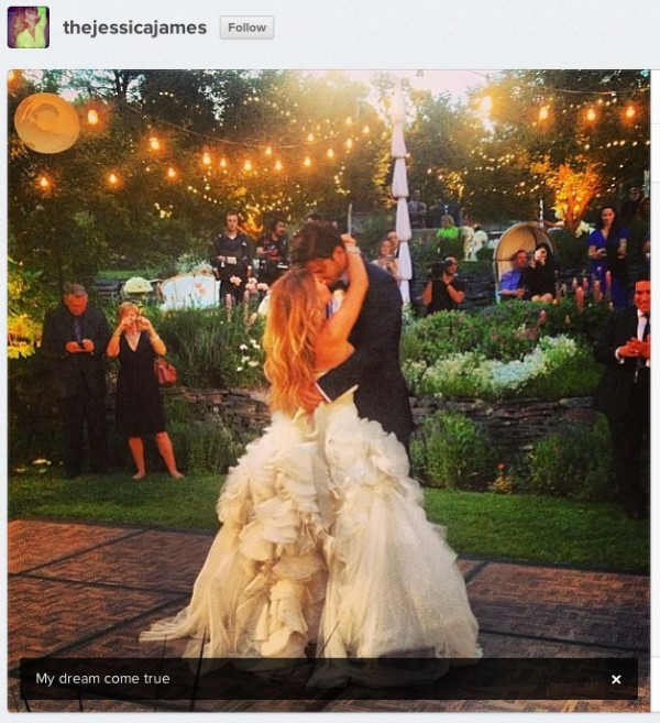 Decker and James getting married. (Photo:Instagram)