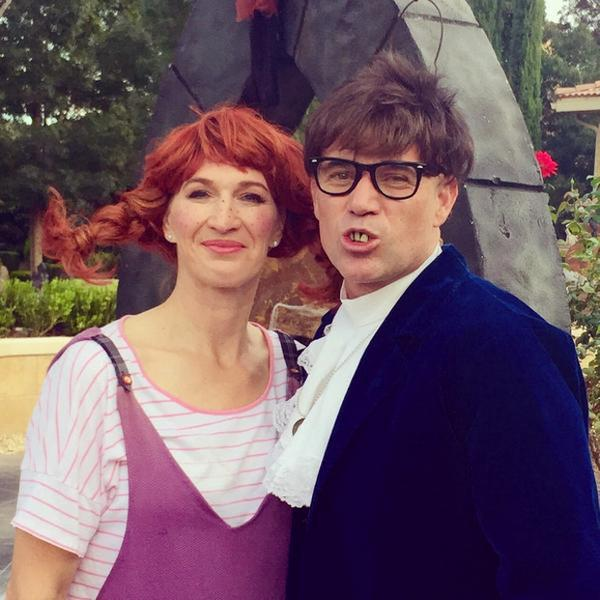 Andre Agassi The New Austin Powers Retired Tennis Stars Halloween Costume Perfect Copy Of Mike Myers VIDEO OTHER Sports World News