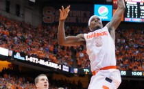 CJ Fair goes up for a dunk versus Duke.