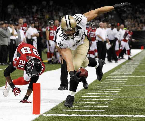 New Orleans Saints TE Jimmy Graham