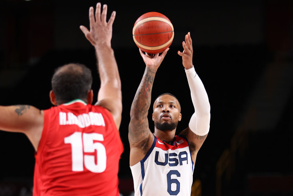 Team USA Men's Basketball Shrugs Off First Game Defeat With Blowout Win Over Iran in Tokyo Olympics