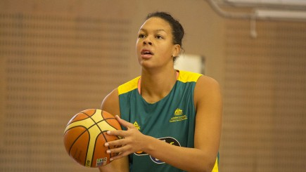 Australian Center Liz Cambage of the Dallas Wings