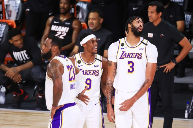Veteran Lakers Keep Getting Older With the Return of Rajon Rondo; How Will He Help Lebron?