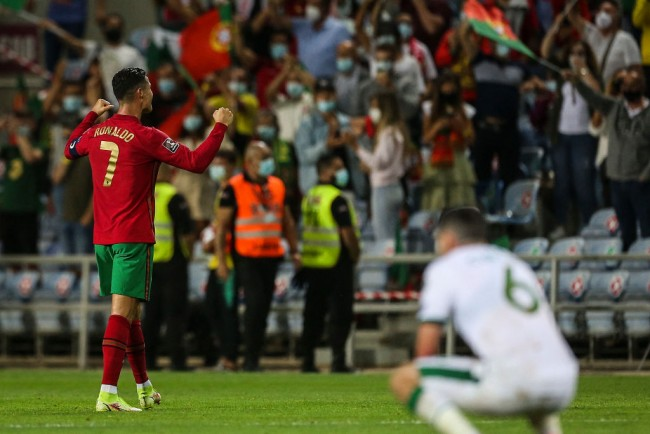 Ronaldo Breaks International Scoring Record After Portugal Edges Ireland in 2022 World Cup Qualifier