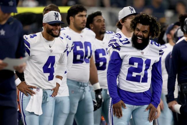Dallas Cowboys Owner Jerry Jones Confident Dak Prescott Will Face Tom Brady and the Bucs in Week 1